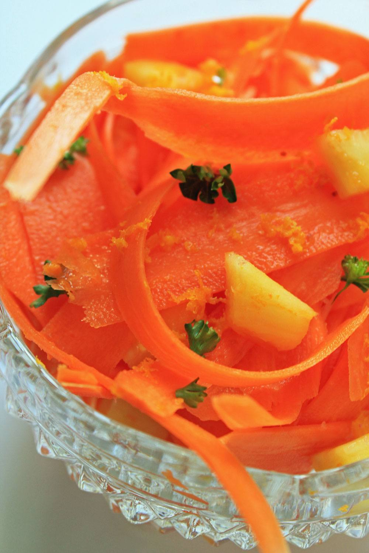 healthy carrot salad