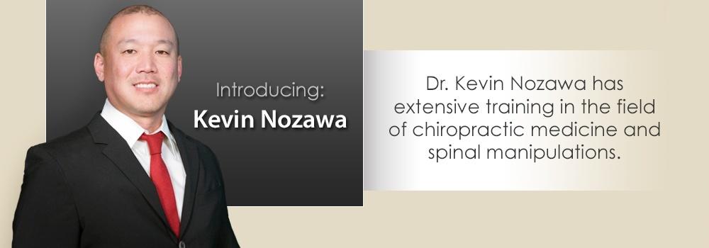 Kevin Nozawa Chiropractor